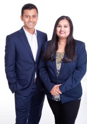 Jinay and Rushvi Shah