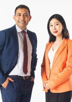 Andy Lall and Lynn Li  - Realty Gold Team